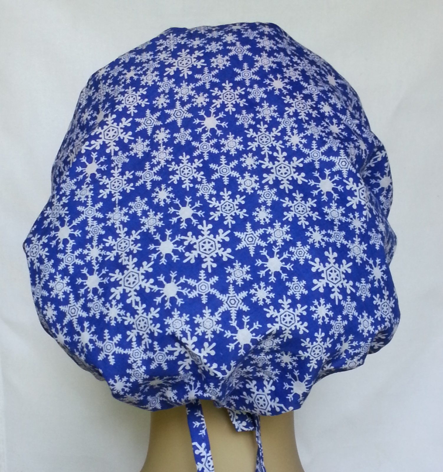 Snowflakes Banded Bouffants back view